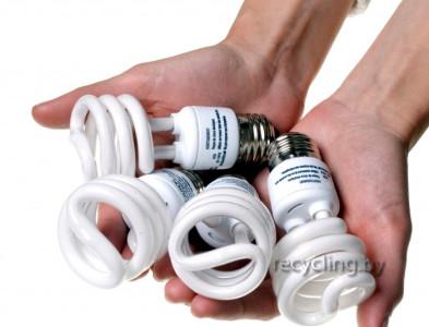 Сбор отработанных ламп